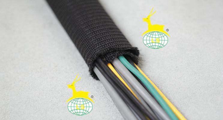 稠密型自卷式编织套管