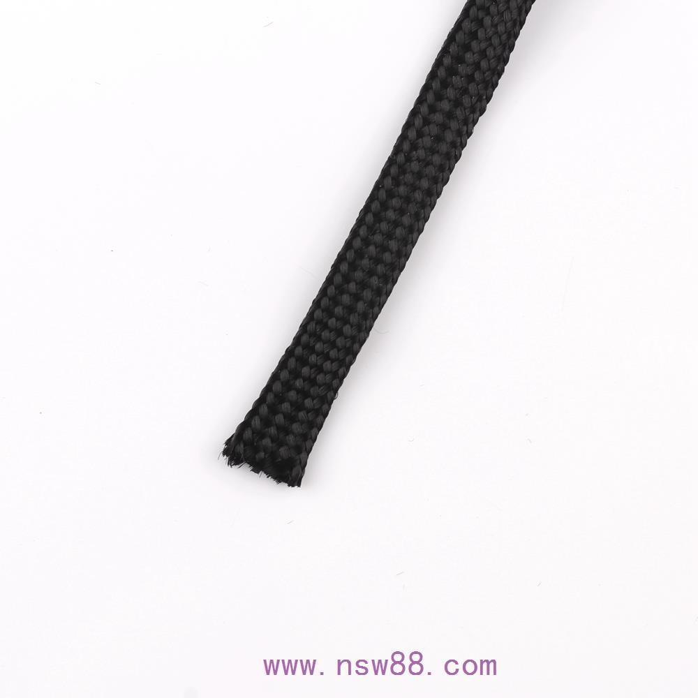诺梅克丝黑色编织网管